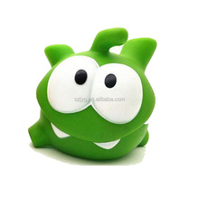 Custom Vinyl Squeeze Sound Toys Rotocasting Rich Expression Set Plastic Frog Toy