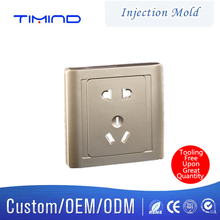 Timind Injection mould design for plastic shell of electrical outlet custom die casting mould and plastic injection mold