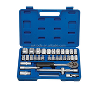 120pcs Ratchet Wrench Set, Ratchet and Socket Set