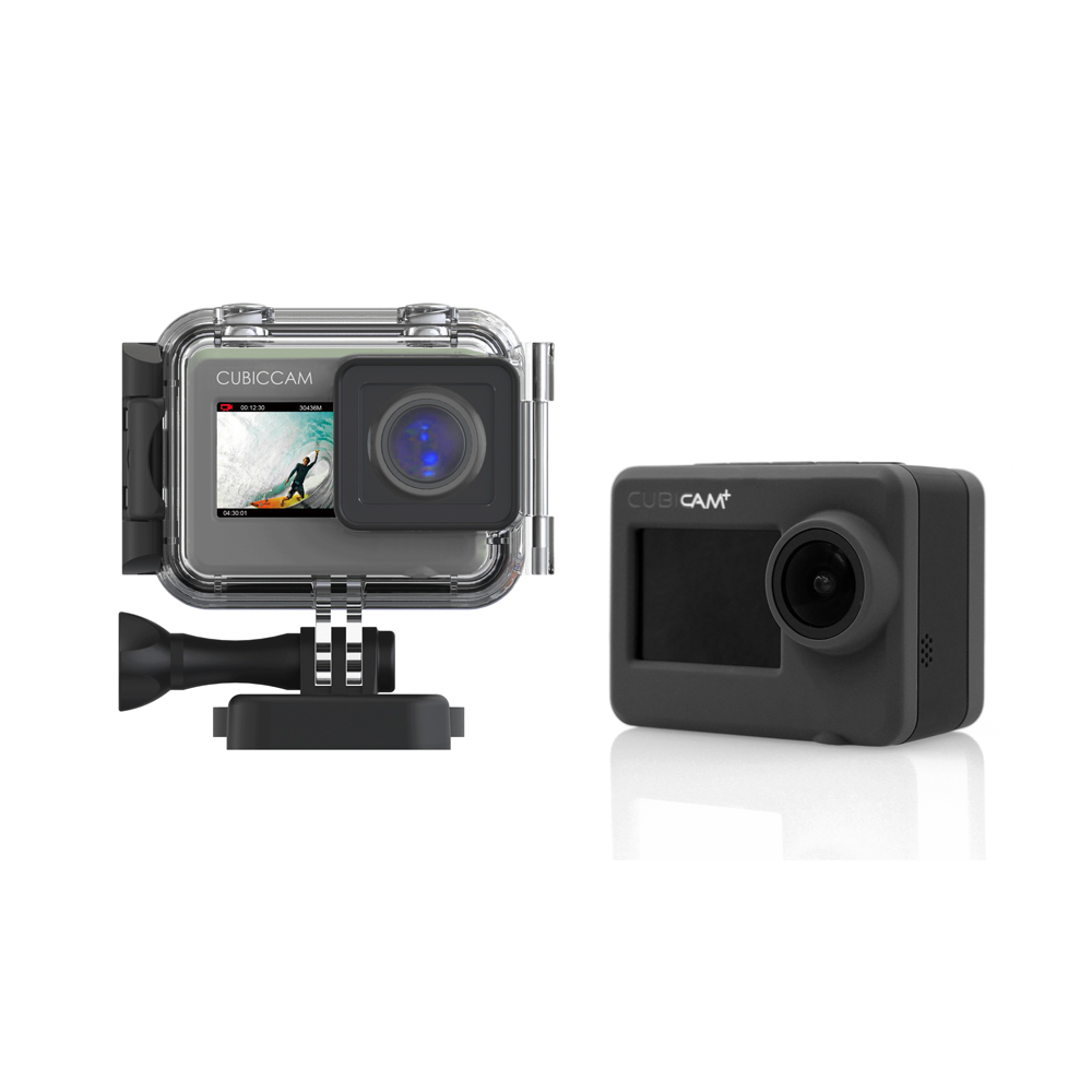 Real Ultra HD 4K 30fps 50 Meters Waterproof 1080P 120fps Ambarella A12 Chip S0NY IMX078 Sensor Sport Action Camera with CE RoHS