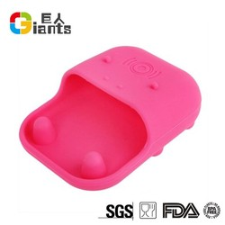 new promotion portable Cellphone Accessories silicone music speaker for cell phone