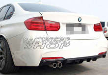 UNPAINTED P Style REAR DIFFUSER 328i FOR BMW F30 NEW 3-SERIES SEDAN Aftermarket TaiWan Made MTECH BUMPER B113F