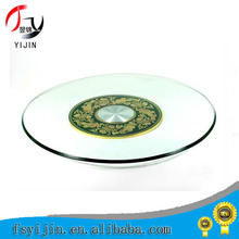 Dinner convenient lazy susan swivel plate for wedding/hotel