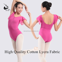 116141022 Girls Ballet Dance Chiffon Leotard