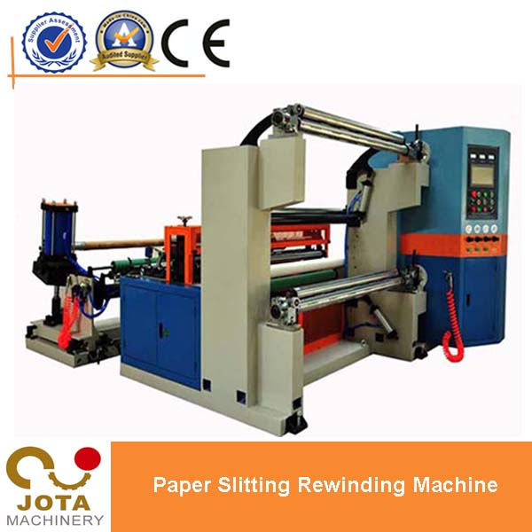 Double Frequency Inverters Automatic BOPP Adhesive Tape Slitting Machine