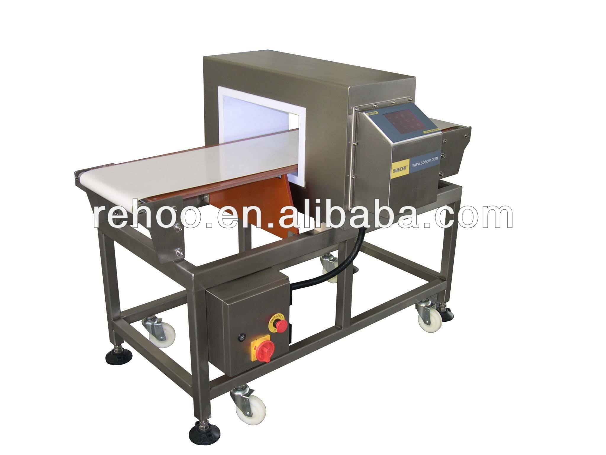 Industrial automatic bread metal detect machine