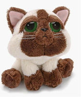 Very rare and cuddly Siamese Cat animal toy