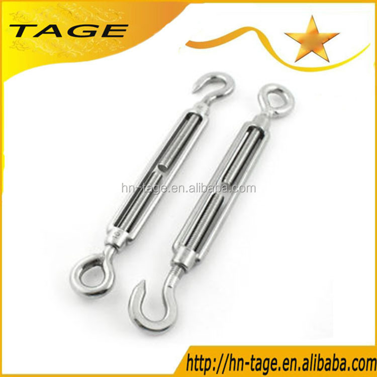 High Quality Product Standard Turnbuckle With Hook And Eye For Electric Power Hardware
