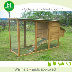 DXH011 professional made large size chicken coop designs for 10 chickens