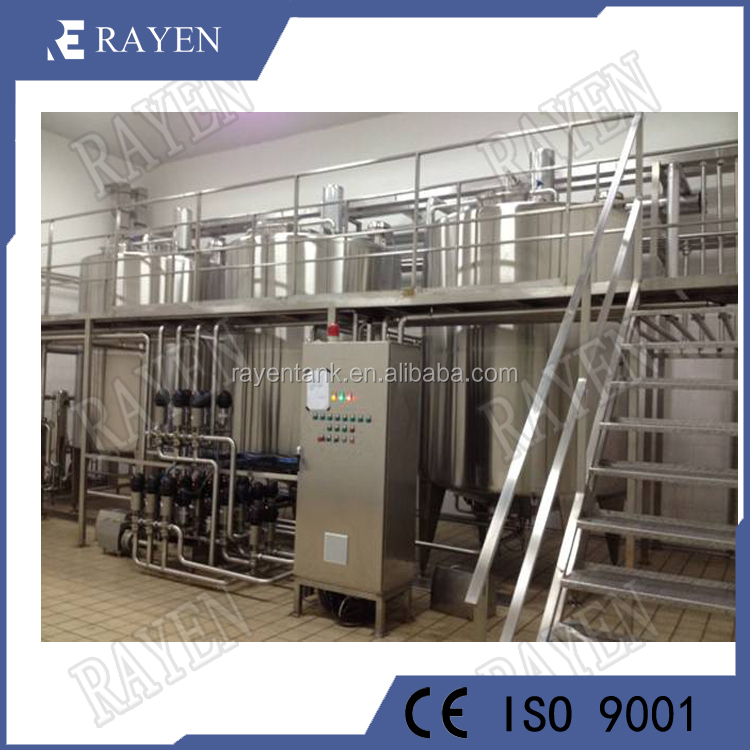 Food grade stainless steel milk processing line mini dairy plant