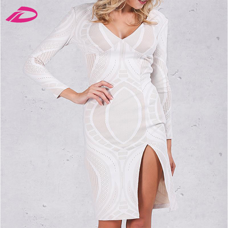 2017 New Arrival summer girls night dress hot sexy transparent club dress