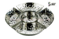 Hammered Point Hot Sale Five Pieces Combination Bowl For Food
