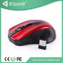 2.4Ghz 3D Wireless Optical USB Gaming Mouse with 1200dpi for Desktop/Notebook