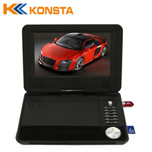 Portable tv digital with DVD/VCD/CD DIVX Player with 10 inch LED screen