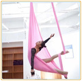 2017 yoga High quality 100% nylon 5m x2.8m aerial fabric with bounce yoga swing custom-made -100% quality guarantee