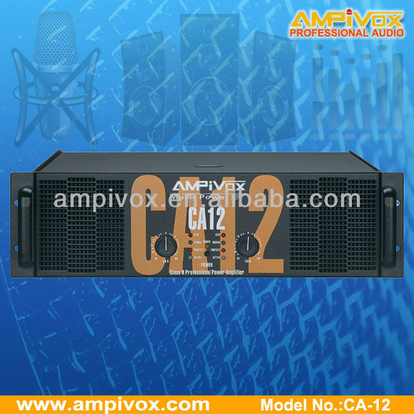 Professional power amplifier CA CA-12