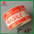 500 Labels each 2x3 Please FRAGILE Handle with Care Shipping Mailing Stickers