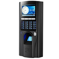 TCP/IP Fingerprint Biometric 2.4inch LCD Fingerprint Access door Controller with time attendance function