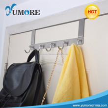 Home useful decorative over the door hooks metal robe hooks
