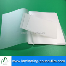 Wuxi Plastic Film Lamination For Cards 80mic 125mic 175mic Clear PET Laminating Pouches