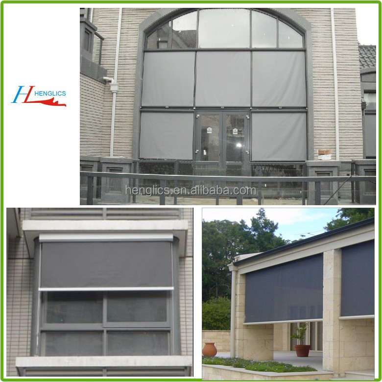 outdoor polyester waterproof window roller blinds