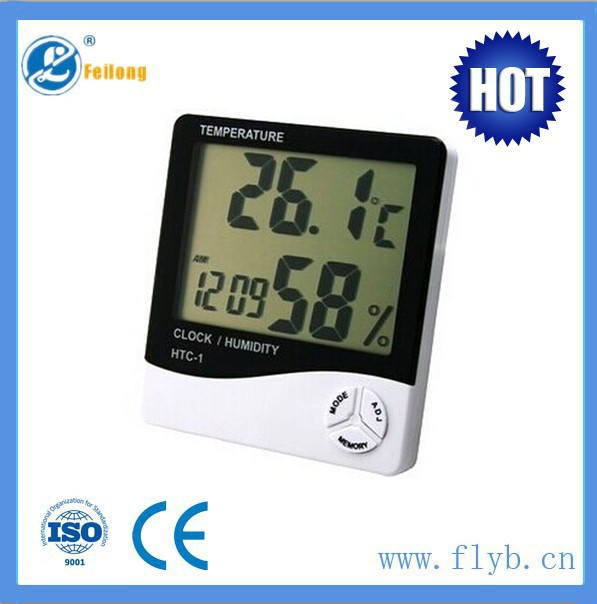 Feilong large temperature humidity display