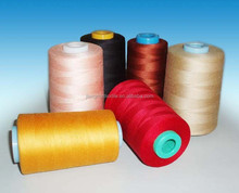 100 polyester spun yarn for sewing thread/knitting/weaving-Direct buy China wholesale best quality and price 1.2d*38mm