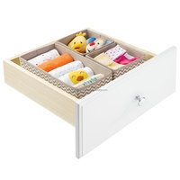 Foldable Strong Drawer Storage Box, Fabric Drawer Organizers