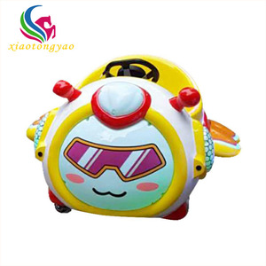 Cute little bee attractive amusement park electric battery bumper cars for kids