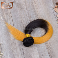 full cuticle hair yellow hair color cream noble gold hair weave