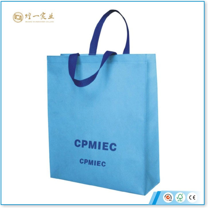 promotion gift foldable non woven bag packaging bag