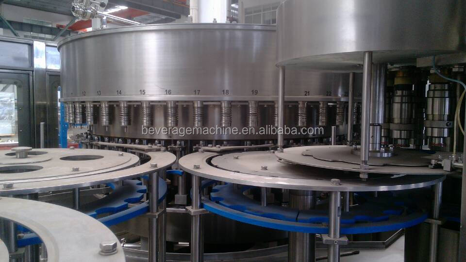 12000BPH Automatic PET bottle filler for Mineral Water Production