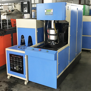 5-Year warranty 5L 10L 15L 18.9L 20L semi automatic pet injection stretch blow molding blow moulding machine