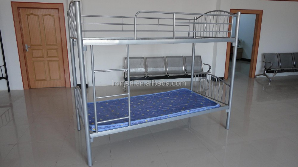 High quality single metal bed metal bunk bed metal for Good quality single beds