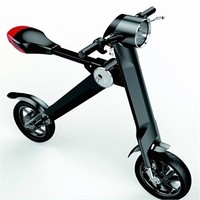 white color hot sale smart city electric folding bike
