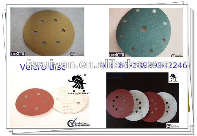 sanding pad for wood and metal etc.