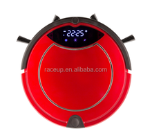 Mini Automatic Red Color Auto Charge Robot Vacuum Cleaner