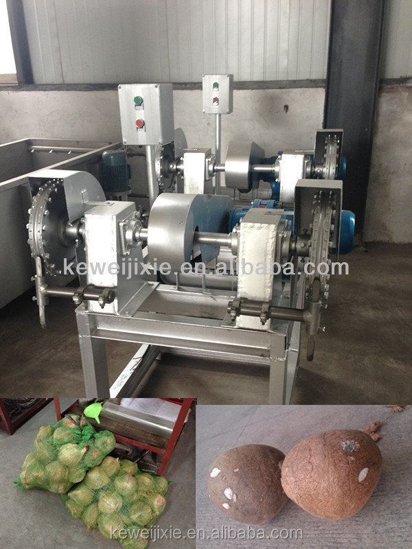 Best price and high quality of coconut peeling machine
