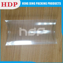 Customized PET PVC PP Clear Plastic Pillow Box