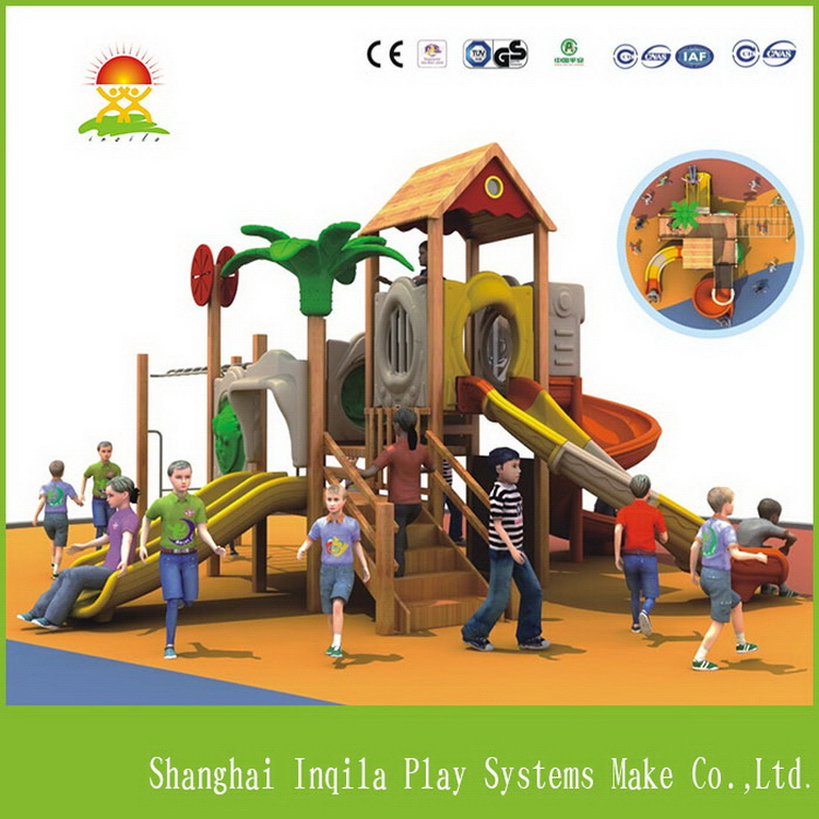 Best quality classical outdoor playground equipment in wooden