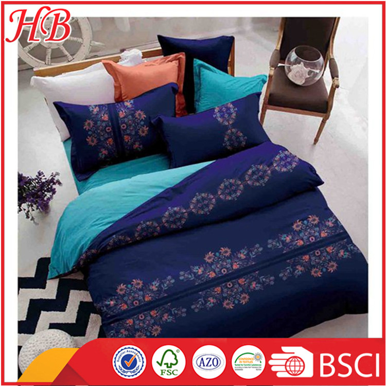 Chinese home textile manufacturers provide bedding set and quilt cover
