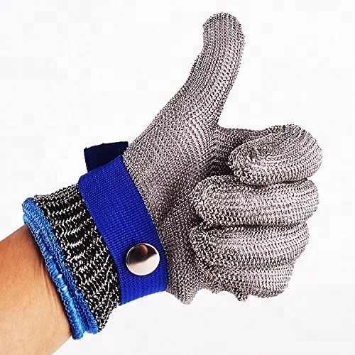 EN388 316 Stainless Steel wire mesh Safety Metal Stainless Steel <strong>Gloves</strong>