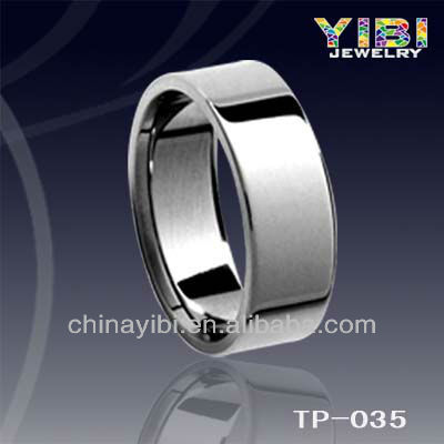 Pipe Cut Tungsten Carbide Ring,Engrave Cock Tungsten Rings,Shiny Forever Tungsten Men Ring