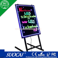 advertising products neon led programmable sign display board