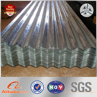 hot dip galvanized corrugated steel roofing sheet; roofing materials; metal roof