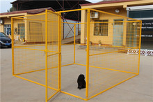 2017 hot sale 10X10X6ft US/Canada/AU chain link outdoor large dog run kennel/dog cage