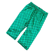 Mermaid green legging and pom capris fashion girls kids clothes 2016 wholesales