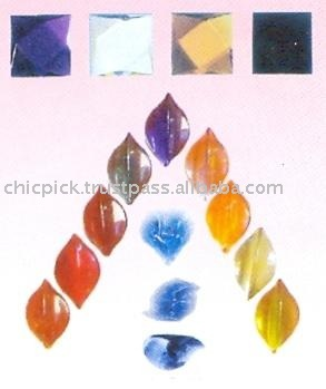 Flat Bottom Glass Beads