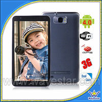 6 inch android 4.2 rom mtk6589 quad core smart phone 3G