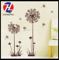 2015 new arrived wholesale self adhesive customized printing safe vinyl home decor wall sticker